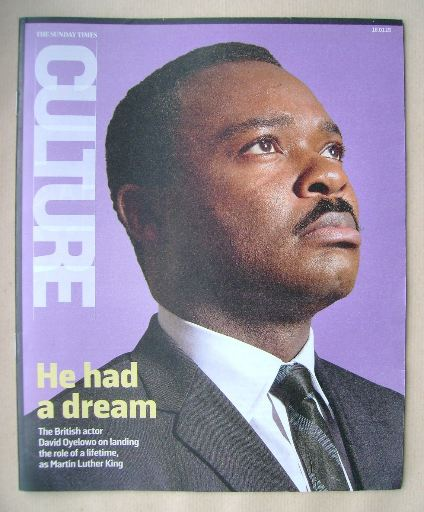 <!--2015-01-18-->Culture magazine - David Oyelowo cover (18 January 2015)