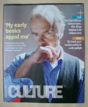 Culture magazine - Martin Amis cover (17 August 2014)