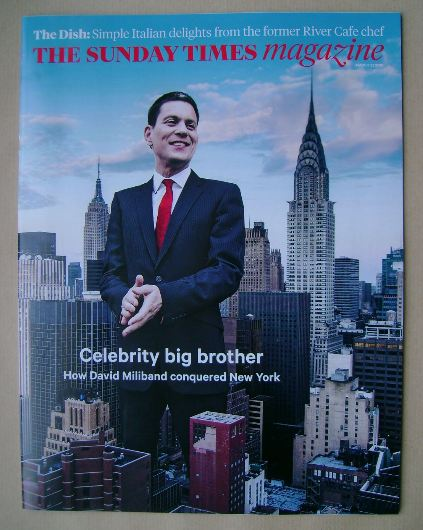 <!--2015-03-22-->The Sunday Times magazine - David Miliband cover (22 March