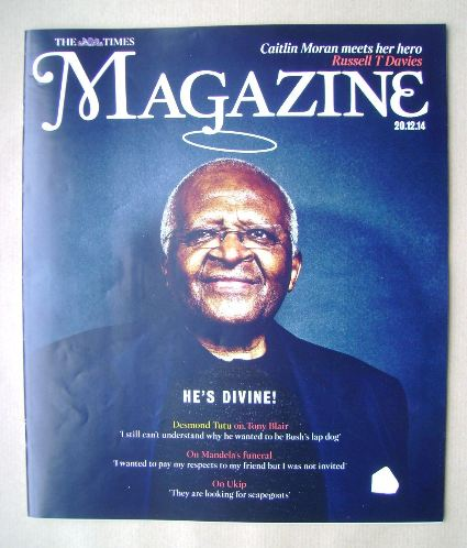 <!--2014-12-20-->The Times magazine - Desmond Tutu cover (20 December 2014)