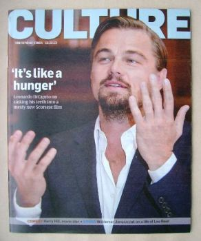 Culture magazine - Leonardo DiCaprio cover (15 December 2013)