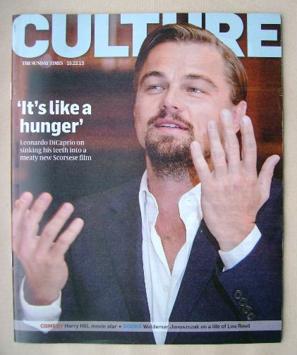 <!--2013-12-15-->Culture magazine - Leonardo DiCaprio cover (15 December 20