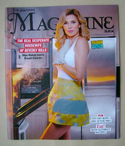 <!--2014-01-25-->The Times magazine - Brandi Glanville cover (25 January 20