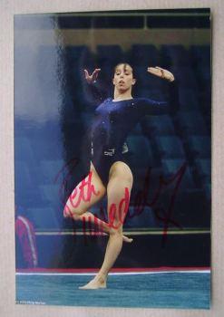 Beth Tweddle autograph