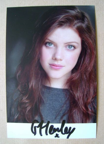 Georgie Henley autograph (hand-signed photograph)