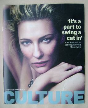 Culture magazine - Cate Blanchett cover (8 September 2013)