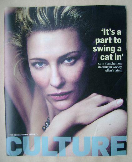 <!--2013-09-08-->Culture magazine - Cate Blanchett cover (8 September 2013)