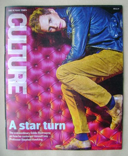 <!--2014-11-16-->Culture magazine - Eddie Redmayne cover (16 November 2014)
