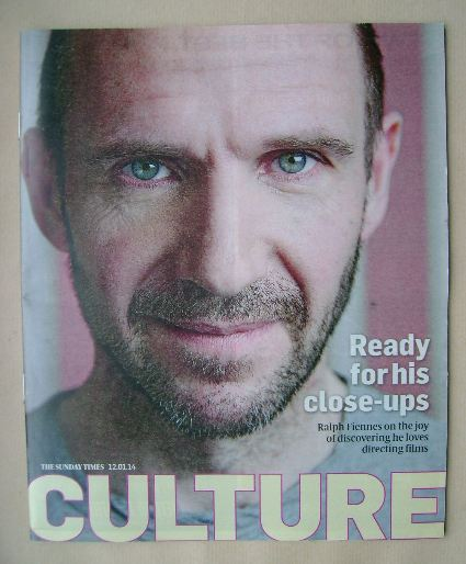 <!--2014-01-12-->Culture magazine - Ralph Fiennes cover (12 January 2014)