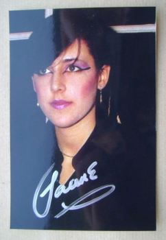 Joanne Catherall autograph