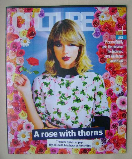 <!--2014-10-26-->Culture magazine - Taylor Swift cover (26 October 2014)