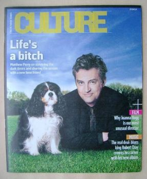 Culture magazine - Matthew Perry cover (27 April 2014)