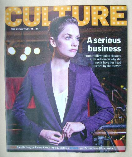 <!--2013-11-17-->Culture magazine - Ruth Wilson cover (17 November 2013)