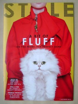 Style magazine - A Bit Of Fluff cover (1 December 2013)
