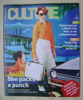 Culture magazine - La Roux cover (20 July 2014)