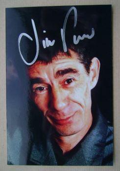Jimmy Pursey autograph