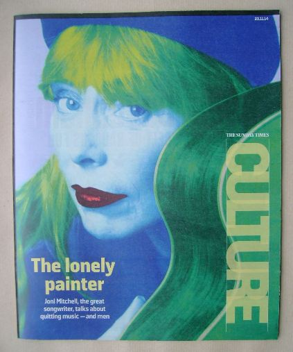 <!--2014-11-23-->Culture magazine - Joni Mitchell cover (23 November 2014)