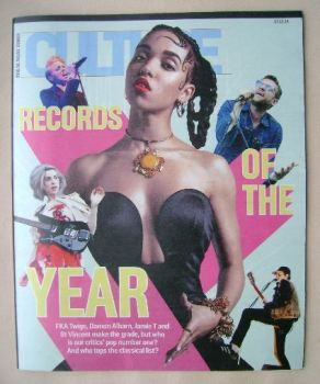 Culture magazine - Records Of The Year cover (7 December 2014)