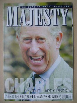 Majesty magazine - Prince Charles cover (November 2006 - Volume 27 No 11)