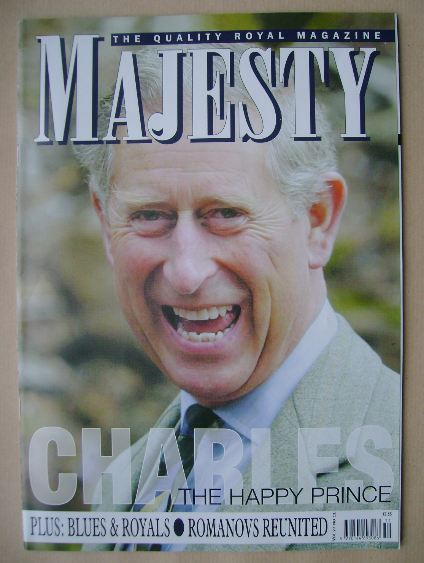 <!--2006-11-->Majesty magazine - Prince Charles cover (November 2006 - Volu
