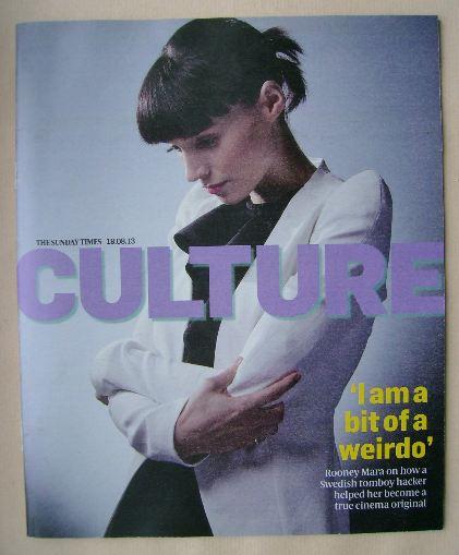 <!--2013-08-18-->Culture magazine - Rooney Mara cover (18 August 2013)