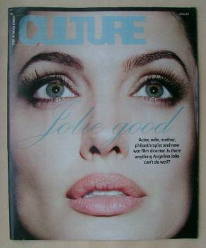 Culture magazine - Angelina Jolie cover (30 November 2014)