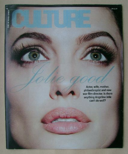 <!--2014-11-30-->Culture magazine - Angelina Jolie cover (30 November 2014)