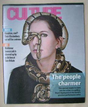 Culture magazine - Marina Abramovic cover (15 June 2014)