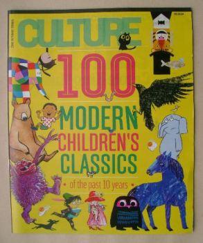 Culture magazine - 100 Modern Children's Classics cover (5 October 2014)