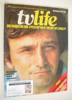 TV Life magazine - Peter Falk cover (September 1974)