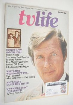 TV Life magazine - Roger Moore cover (April 1975)