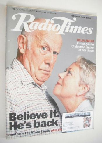 <!--2000-10-14-->Radio Times magazine - Richard Wilson and Annette Crosbie