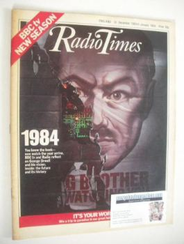Radio Times magazine - Big Brother cover (31 December 1983 - 6 January 1984)