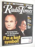 <!--1993-12-11-->Radio Times magazine - Bob Hoskins and Elizabeth McGovern cover (11-17 December 1993)