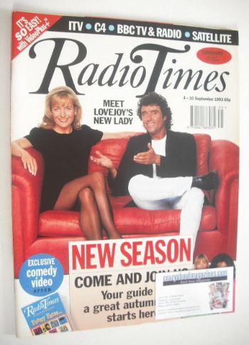 <!--1993-09-04-->Radio Times magazine - Ian McShane and Caroline Langrishe