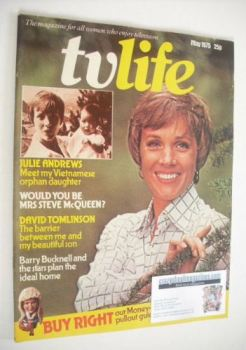 TV Life magazine - Julie Andrews cover (May 1975)
