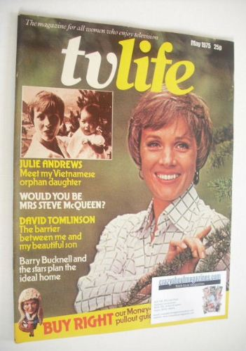 <!--1975-05-->TV Life magazine - Julie Andrews cover (May 1975)