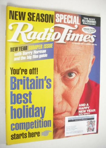 <!--1994-12-31-->Radio Times magazine - Richard Wilson cover (31 December 1