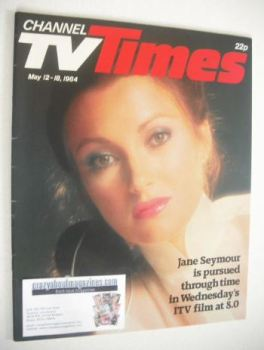 CTV Times magazine - 12-18 May 1984 - Jane Seymour cover