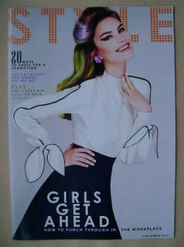 Style magazine - Girls Get Ahead cover (3 November 2013)
