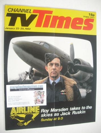 <!--1982-01-23-->CTV Times magazine - Roy Marsden cover (23-29 January 1982