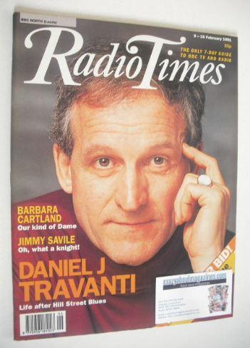 <!--1991-02-09-->Radio Times magazine - Daniel J Travanti cover (9-15 Febru