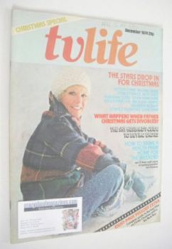 TV Life magazine - Petula Clark cover (December 1974)