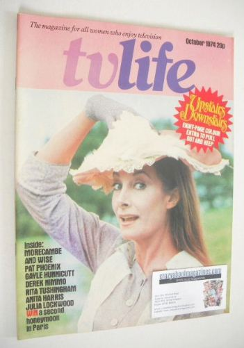 <!--1974-10-->TV Life magazine - Jean Marsh cover (October 1974)
