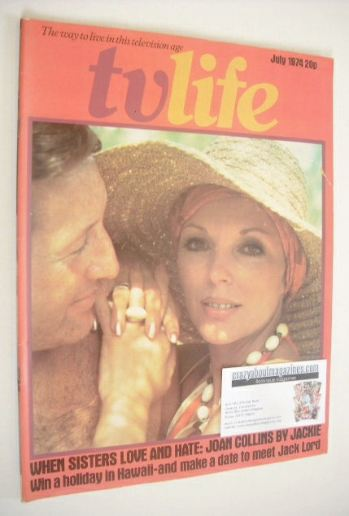 <!--1974-07-->TV Life magazine - Joan Collins cover (July 1974)