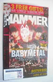 Metal Hammer magazine - Babymetal cover (Summer 2015)