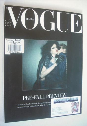<!--2009-06-->Vogue Italia magazine - June 2009 - Meghan Collison cover