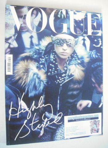<!--2011-11-->Vogue Italia magazine - November 2011 - Raquel Zimmermann cov