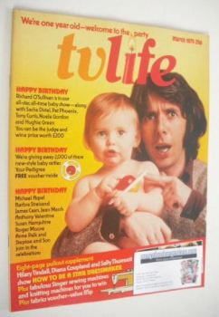 TV Life magazine - Richard O'Sullivan cover (March 1975)