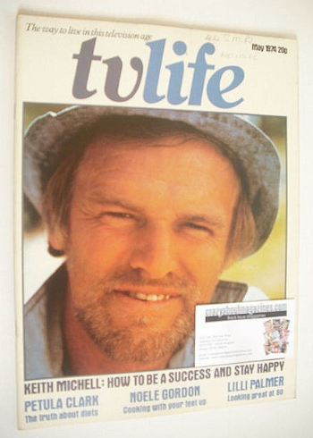 <!--1974-05-->TV Life magazine - Keith Michell cover (May 1974)